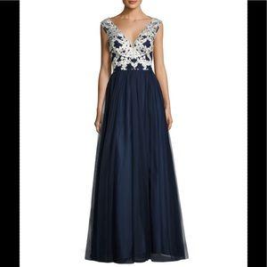 Formal Dress Size 6 Aidan by Aidan Mattox Navy NEW